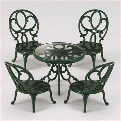 シルバニアファミリー 家具 ガーデンテーブルチェアーセット[エポック]《発売済・在庫品》