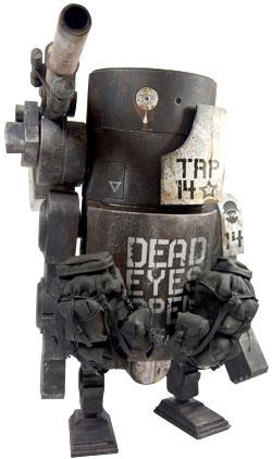 ワールド・ウォー・ロボット ラージ・マーティン(パンダ) 12インチアクションフィギュア 単品[スリー・エー]《在庫切れ》