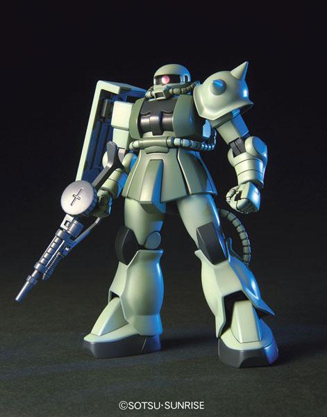 HGUC 1/144 量産型ザク プラモデル(再販)[バンダイ]《発売済・在庫品》