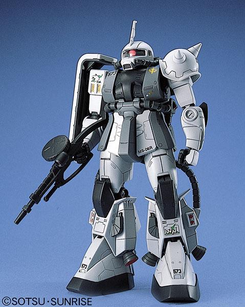 MG 1/100 MS-06R-1 ザクII シン・マツナガ大尉機 Ver.1 プラモデル(再販)[バンダイ]《在庫切れ》