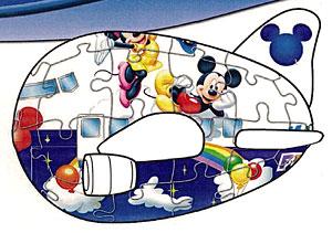ジグソー 3D球体パズル ディズニー 3Dジェットパズル ミッキージャンボ(2200-010)[やのまん]《在庫切れ》