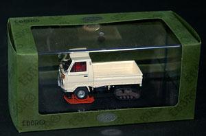 ダイキャストミニチュアモデル 1/43 ホンダ TN360 クローラ 1968 アイボリー[EBBRO]《取り寄せ※暫定》