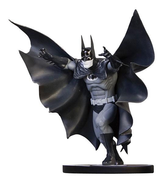 バットマン ミニスタチュー ブラック&ホワイト マーシャル・ロジャーズ版 単品[DCダイレクト]《在庫切れ》