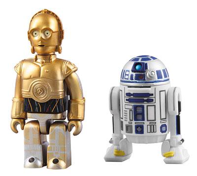 キューブリック No.255 スター・ウォーズ C-3PO & R2-D2 2体セット