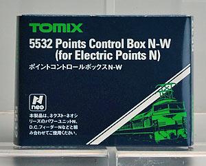 5532 ポイントコントロールボックスN-W(再販)[TOMIX]《発売済・在庫品》