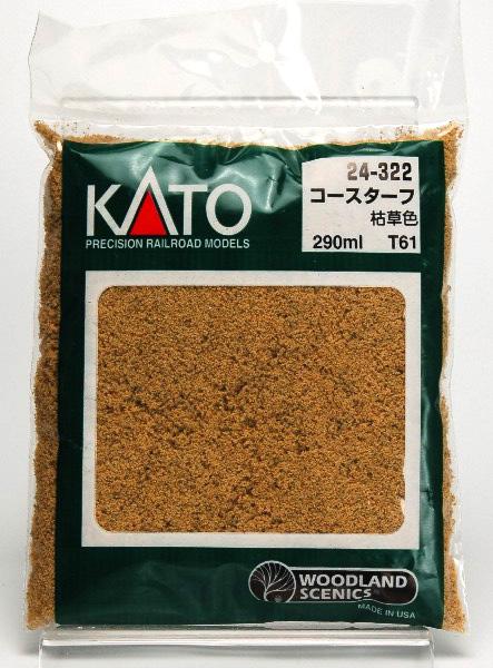 24-322 コース・ターフ枯草色 (T61)(再販)[KATO]《在庫切れ》