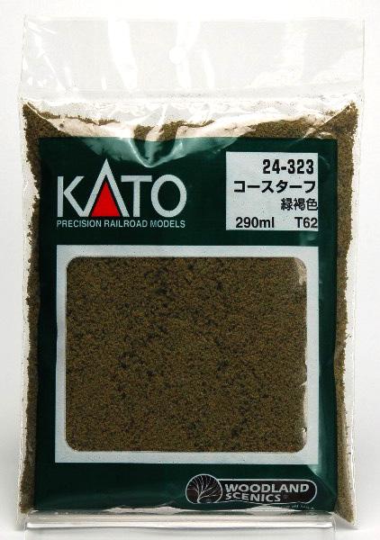 24-323 コース・ターフ緑褐色 (T62)(再販)[KATO]《在庫切れ》