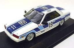 1/43 日産 スカイライン RS ターボ(R30)Gr.A No.19/1985(ホワイト/ブルー)No.82[京商]《取り寄せ※暫定》