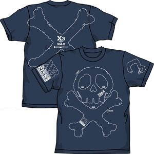 機動戦士クロスボーン・ガンダム X3 Tシャツ/デニム-M(再販)[コスパ]《在庫切れ》