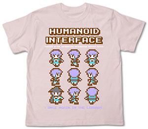 涼宮ハルヒの憂鬱 長門ピクセルTシャツ/ベビーピンク-XL(再販)[コスパ]《在庫切れ》