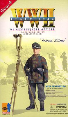 "1/6 WW.II ドイツ陸軍 第5山岳師団 軍曹""アンダース・ツィルマー""イタリア1944[プラッツ]《在庫切れ》"