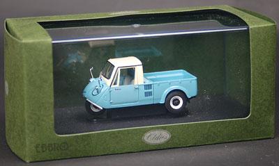 ダイキャストミニチュアモデル マツダ K360 3輪トラック 1962 ライトブルー[EBBRO]《取り寄せ※暫定》