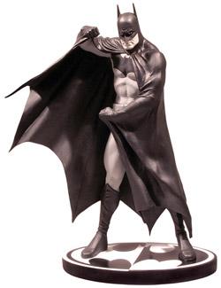バットマン ミニスタチュー ブラック&ホワイト アレックス・ロス版