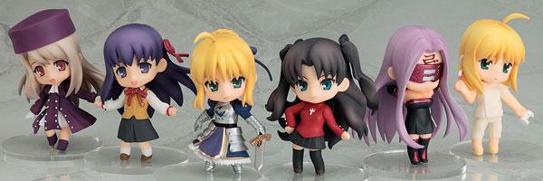 ねんどろいどぷち Fate/stay night 12個入りBOX[グッドスマイルカンパニー]《在庫切れ》