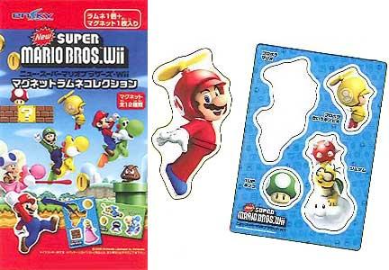 【食玩】ニュー・スーパーマリオブラザーズ・Wii マグネットラムネコレクション BOX[エンスカイ]《在庫切れ》