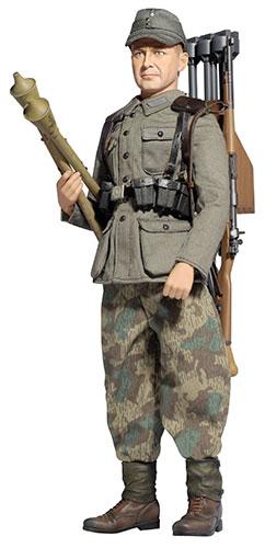 """1/6 アクションフィギュア WW.II ドイツ陸軍 第257国民擲弾兵師団 擲弾兵""""アルダー・フィッシャー""""[プラッツ]《在庫切れ》"""