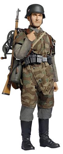 """1/6 アクションフィギュア WW.II ドイツ陸軍 第36歩兵師団 第36通信大隊 通信兵""""ヴィリー・カーラー""""[プラッツ]《在庫切れ》"""