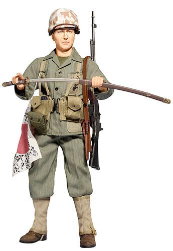 """1/6 アクションフィギュア WW.II アメリカ海兵隊 第5海兵師団 第28海兵連隊 射撃手""""ジャック・ハンロン""""[プラッツ]《在庫切れ》"""