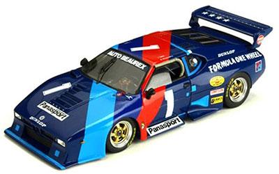 耐久シリーズ 完成品 1/43 BMW M1 1982年 鈴鹿1000Km 優勝[KBモデル]《在庫切れ》