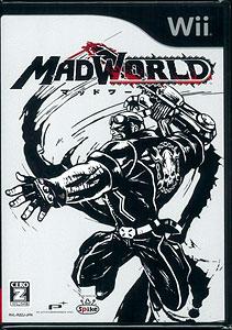 Wii 【日本版】MADWORLD(マッドワールド)[スパイク]《在庫切れ》