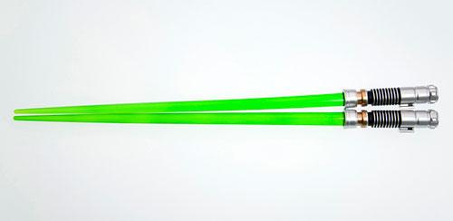 スター・ウォーズ ライトセーバー チョップスティック(箸) ルーク・スカイウォーカーEP6(再販)[コトブキヤ]《在庫切れ》