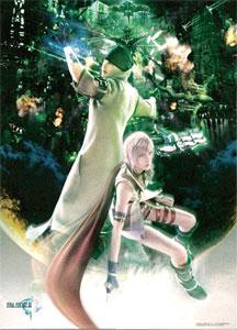 ファイナルファンタジーXIII(13) ウォールスクロールポスター Vol.1 ライトニング&スノウ[スクウェア・エニックス]《在庫切れ》