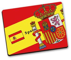 世界の国旗 マウスパッドD(スペイン)[トイズ・プランニング]《在庫切れ》