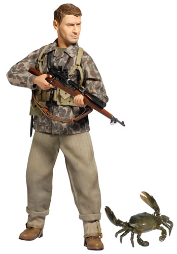 """1/6 アクションフィギュア WW.II アメリカ海兵隊 第1海兵師団 第1海兵連隊 狙撃手""""ジェイク・ハンソン""""[プラッツ]《在庫切れ》"""