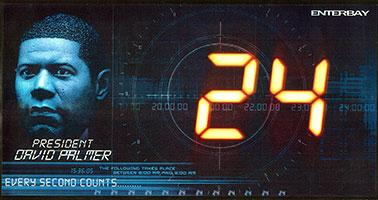 24 -TWENTY FOUR- デイビッド・パーマー 12インチ フィギュア 単品