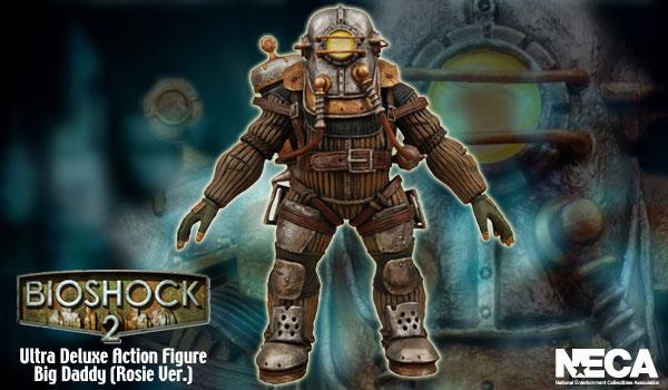 バイオショック2 ビッグダディ ロージーVer. ウルトラDXアクションフィギュア 単品[ネカ]《在庫切れ》