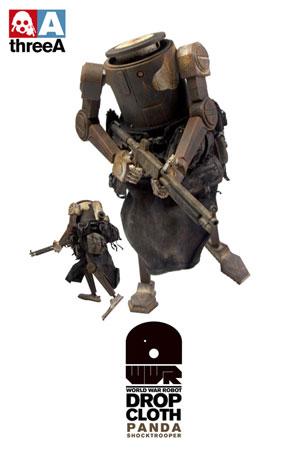 ワールド・ウォー・ロボット ドロップクロース パンダ・ショックトルーパー 12インチフィギュア 単品[スリー・エー]《在庫切れ》
