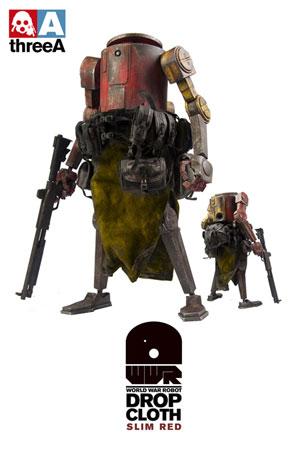 ワールド・ウォー・ロボット ドロップクロース スリム・レッド 12インチフィギュア 単品[スリー・エー]《在庫切れ》