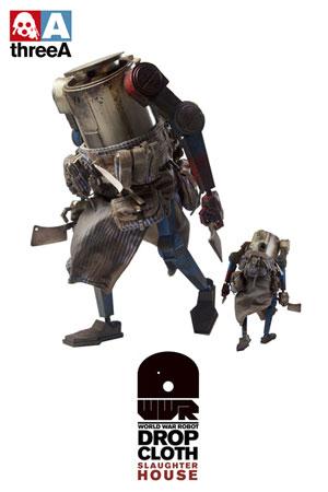 ワールド・ウォー・ロボット ドロップクロース スローター・ハウス 12インチフィギュア 単品[スリー・エー]《在庫切れ》