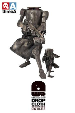 ワールド・ウォー・ロボット ドロップクロース コマンド・アンクル 12インチフィギュア 単品[スリー・エー]《在庫切れ》