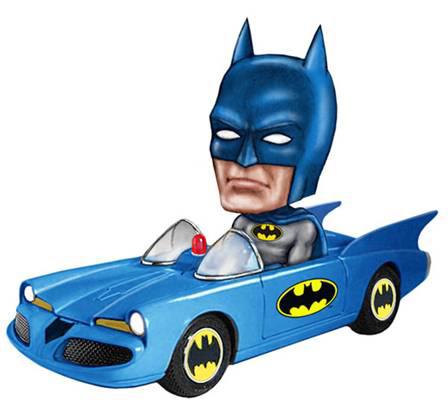 ワッキーワブラー ボブル・カー バットマン バットモービル 単品[ファンコ]《在庫切れ》
