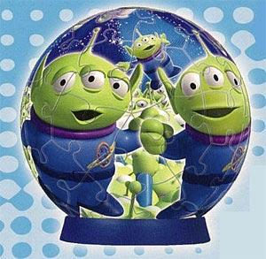 ジグソー 3D球体パズル ディズニー トイ・ストーリー3(2004-236)[やのまん]《在庫切れ》