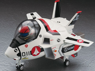 たまごひこーき 超時空要塞マクロス VF-1 バルキリー プラモデル(再販)[ハセガワ]《在庫切れ》