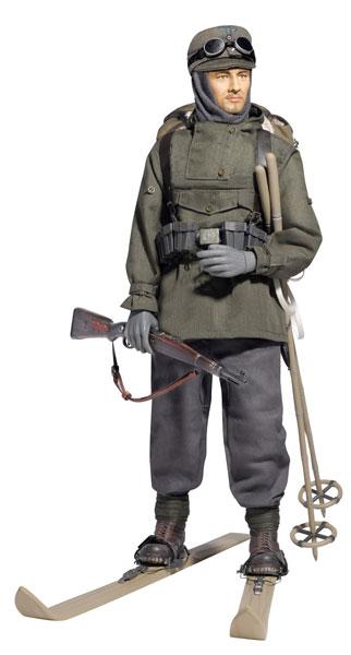 """アクションフィギュア 1/6 WW.II ドイツ軍 第1山岳師団 スキー部隊 山岳猟兵""""ウィルヘルム・エンゲルス""""カフカス 1942年[プラッツ]《在庫切れ》"""