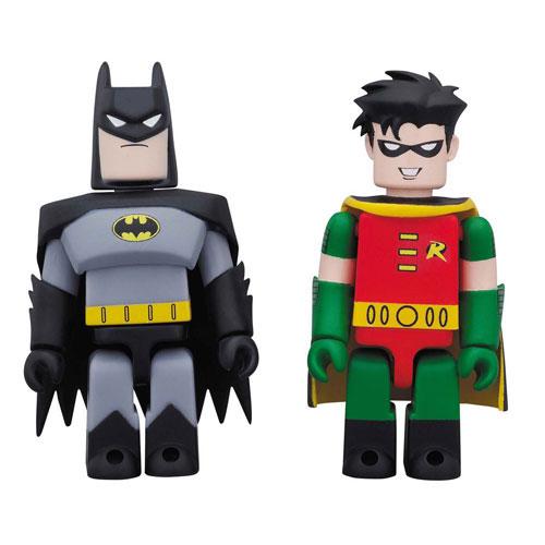 キューブリック バットマン&ロビン(アニメイテッドver.)[メディコム・トイ]《在庫切れ》