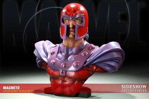 マーベル レジェンダリースケールバスト X-MEN マグニートー 単品[サイドショウ]《在庫切れ》