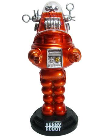 ワッキーワブラー 禁断の惑星 ロビー・ザ・ロボット メタリックオレンジVer. 単品[ファンコ]《在庫切れ》