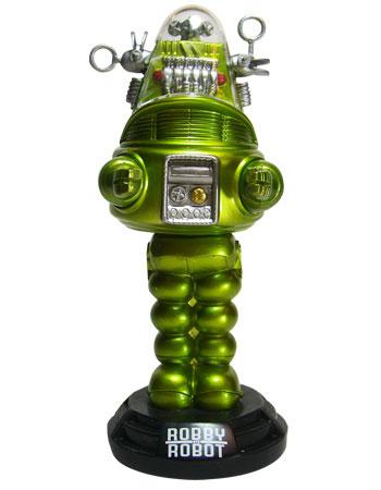 ワッキーワブラー 禁断の惑星 ロビー・ザ・ロボット メタリックライムVer. 単品[ファンコ]《在庫切れ》