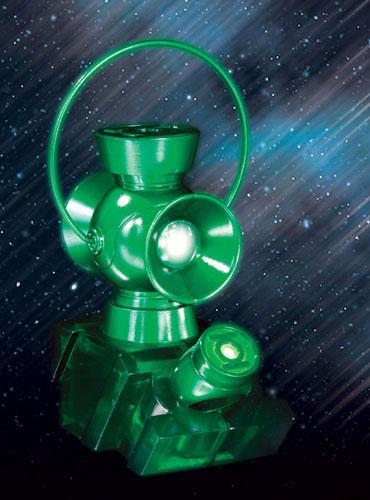 ブラッケスト・ナイト グリーン・ランタン パワーバッテリー&パワーリング 1/4スケールレプリカ 単品[DCダイレクト]《在庫切れ》