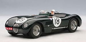 スロットカー 1/32 ジャガー Cタイプ ルマン24時間 優勝車 1953年 #18 ロルト/ハミルトン[オートアート]《取り寄せ※暫定》