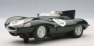 スロットカー 1/32 ジャガー Dタイプ ルマン24時間 優勝車 1955年 #6 ホーソン/ビューブ[オートアート]《在庫切れ》