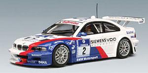 スロットカー 1/32 BMW M3 GTR ニュルブルクリンク24時間 2005年 #2[オートアート]《在庫切れ》