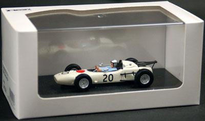 1/43 ホンダ RA271 1964 ドイツGP #20 ホワイト[EBBRO]《取り寄せ※暫定》