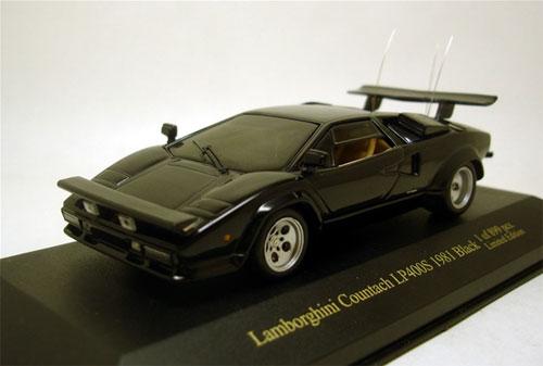 ジールオリジナル IXOモデル 1/43 ランボルギーニ カウンタックLP400S 1981 ブラック[ジール]《在庫切れ》