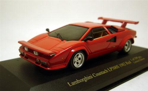 ジールオリジナル IXOモデル 1/43 ランボルギーニ カウンタックLP500S 1982 レッド[ジール]《在庫切れ》