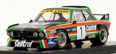 """エンデュランスインフォ モデルカー 1/43 ルイジ BMW 3.0 CSL #1""""カストロール""""ETC 1976 チャンピオンカー[KANEKO]《在庫切れ》"""